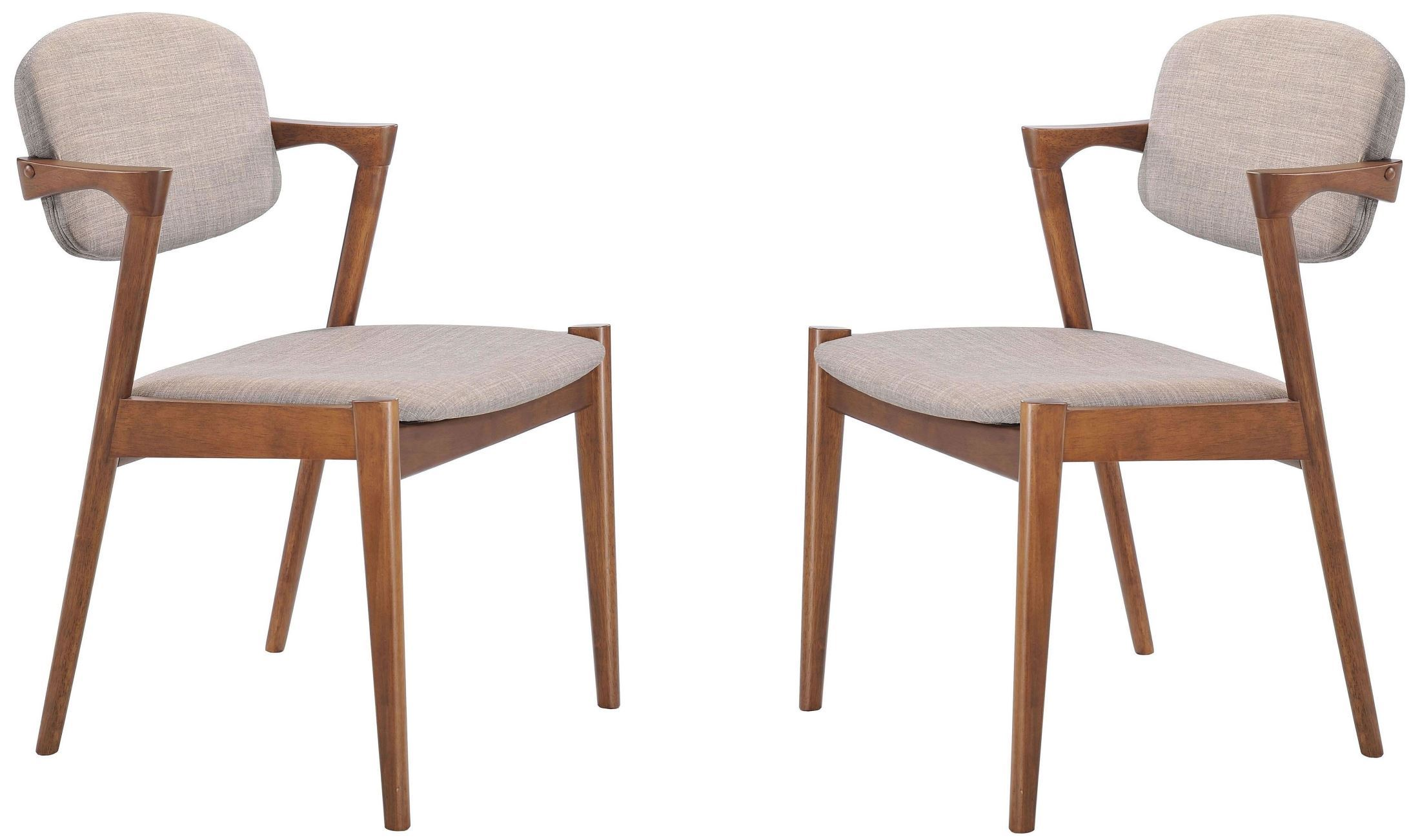 Zuo Modern Brickell Dove Gray Dining Chair Set Of 2
