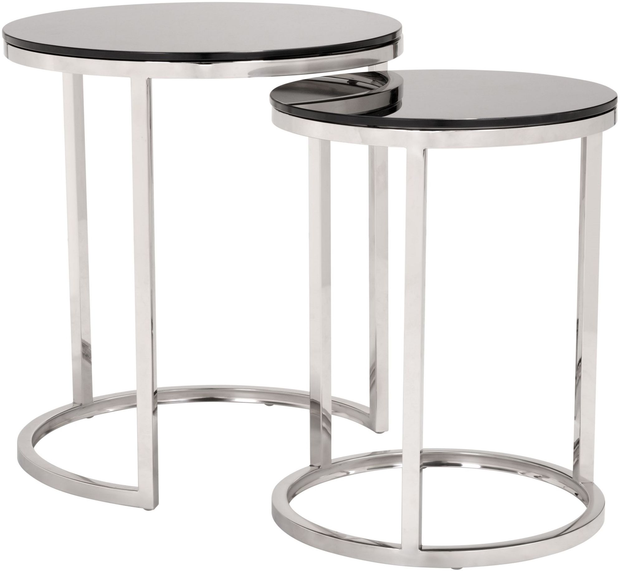 Stainless Steel Coffee Table: Zuo Modern Rem Black And Stainless Steel Coffee Table