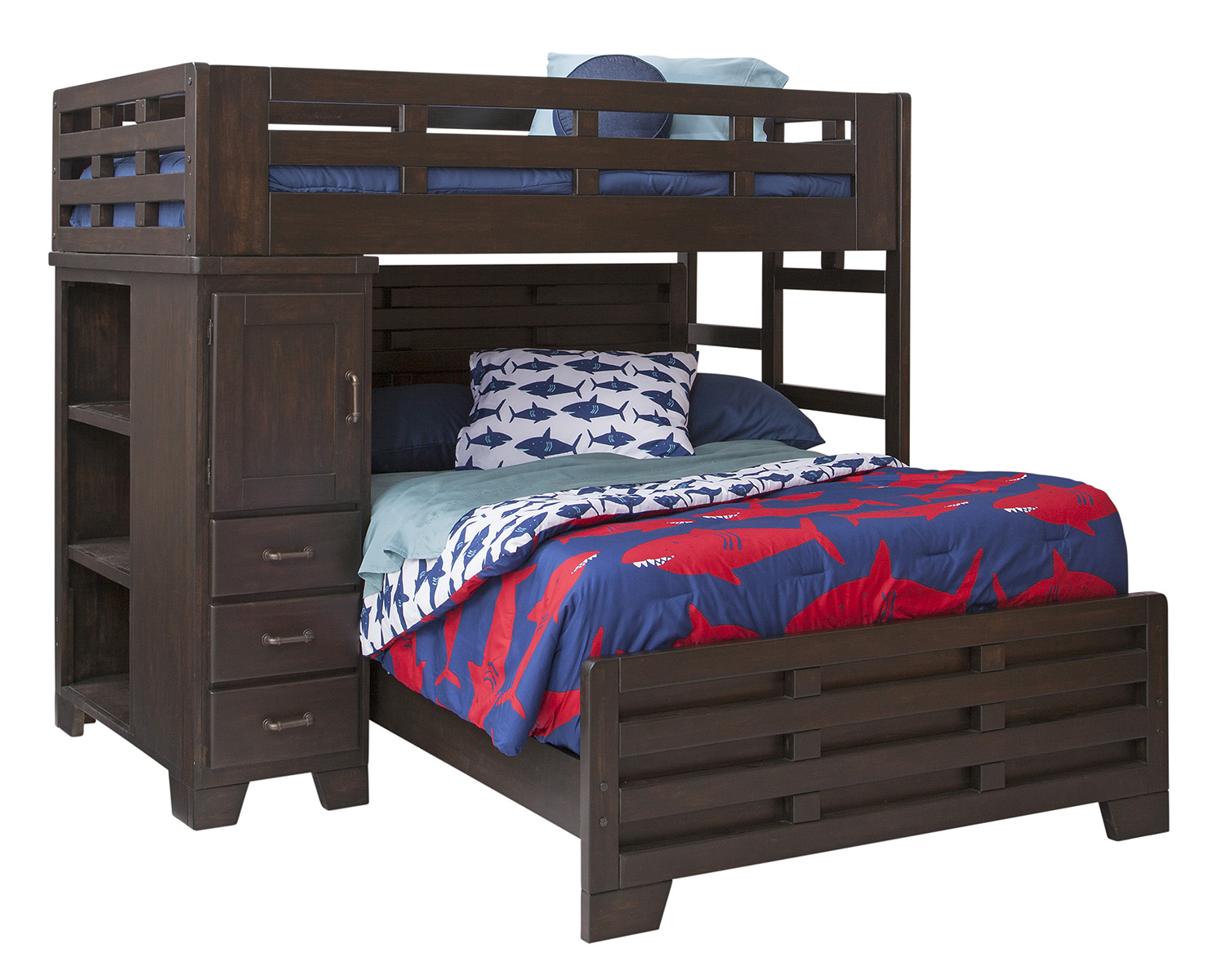 Twin Over Full Loft Bed Captain S