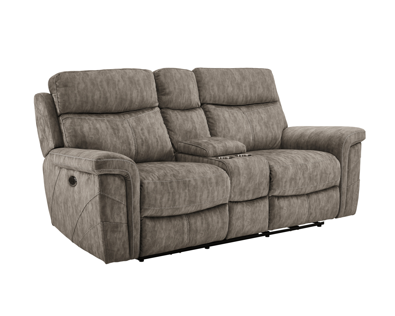 Swell New Classic Furniture Gannon Dual Recliner Loveseat In Stucco U2374 25 Stc Inzonedesignstudio Interior Chair Design Inzonedesignstudiocom