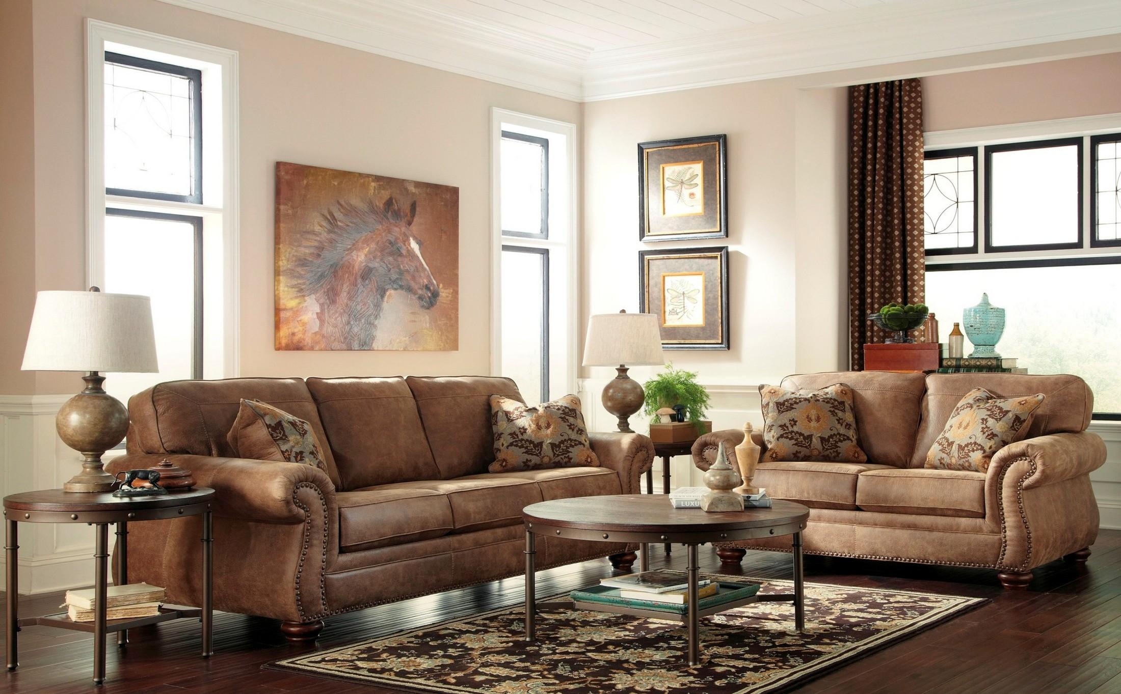 Larkinhurst Earth Living Room SetMedia Image