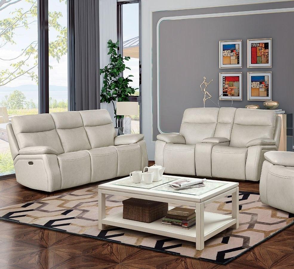 Incredible Micah Power Reclining Living Room Set W Power Headrests Cream Download Free Architecture Designs Scobabritishbridgeorg