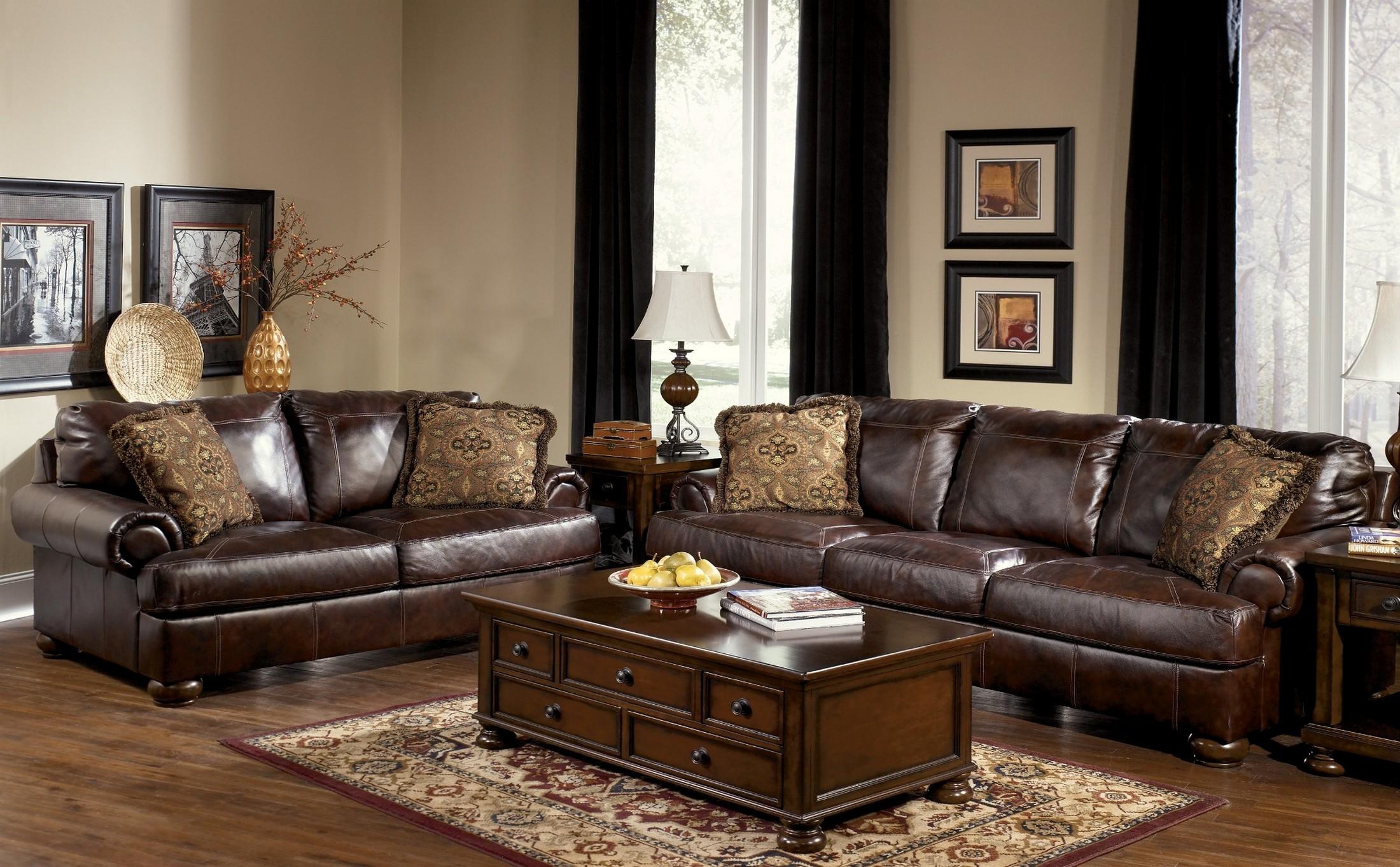 Axiom Walnut Living Room Set - 1StopBedrooms.