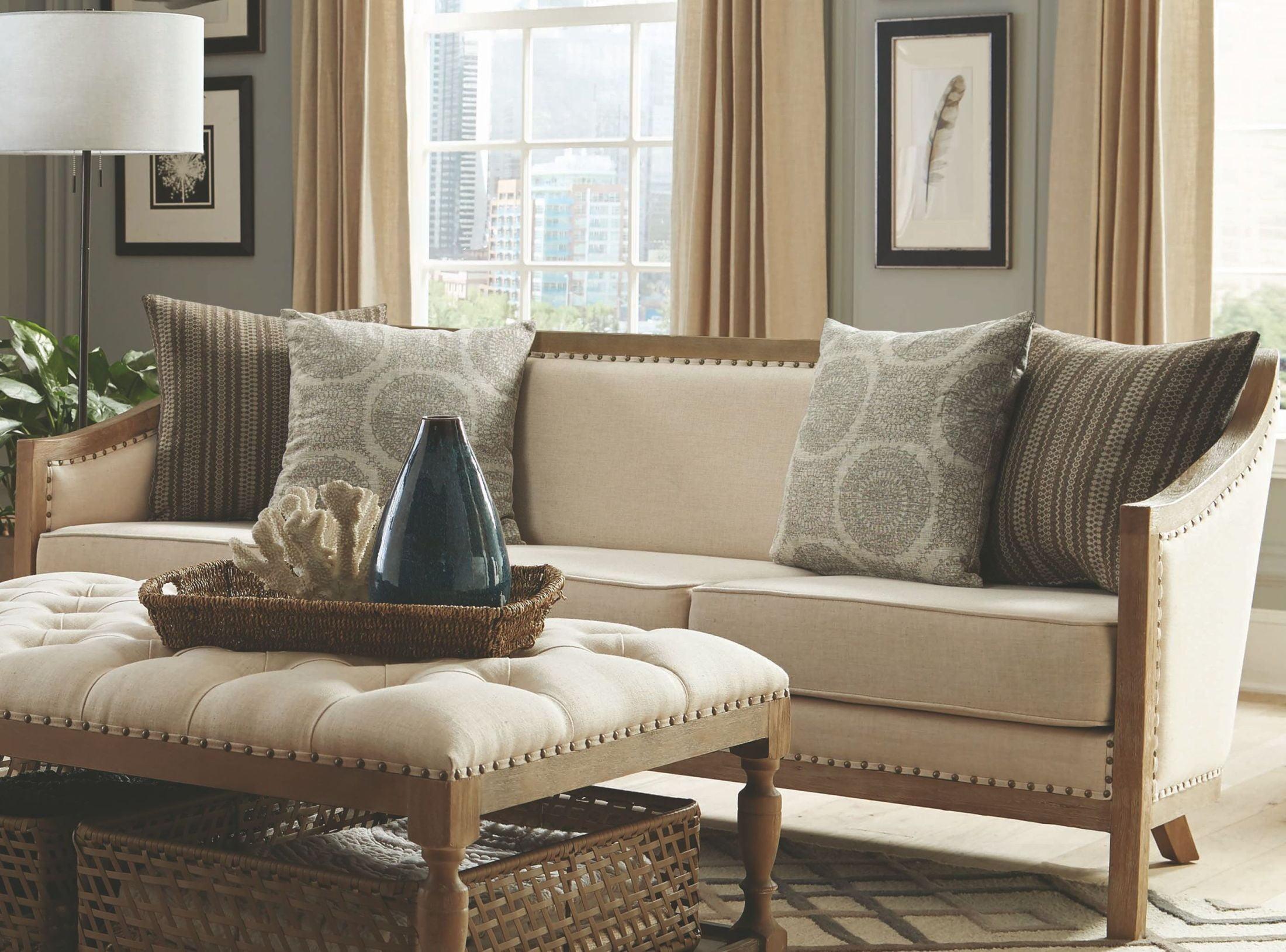 Hamilton natural linen like sofamedia image
