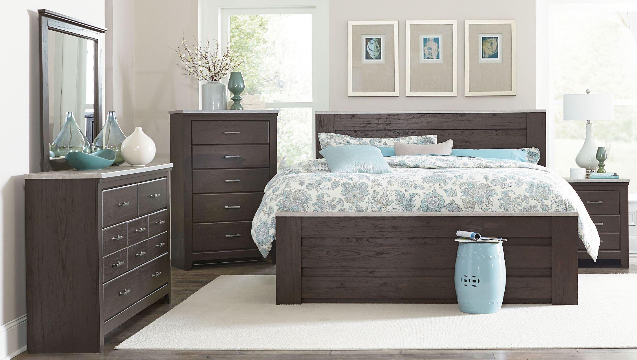 Standard Furniture Stonehill Dark Brown Pecan Poster