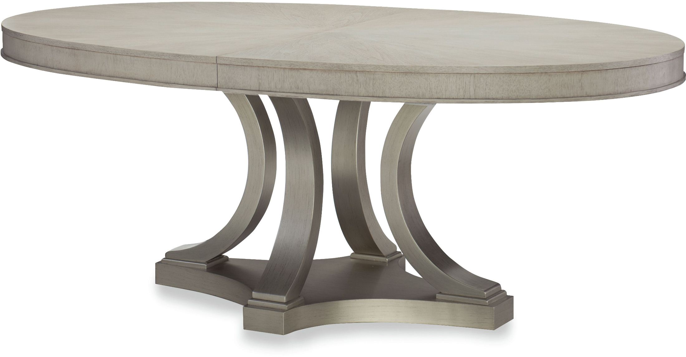 Cinema Shadow Grey Oval Extendable Dining Table By Rachael Ray