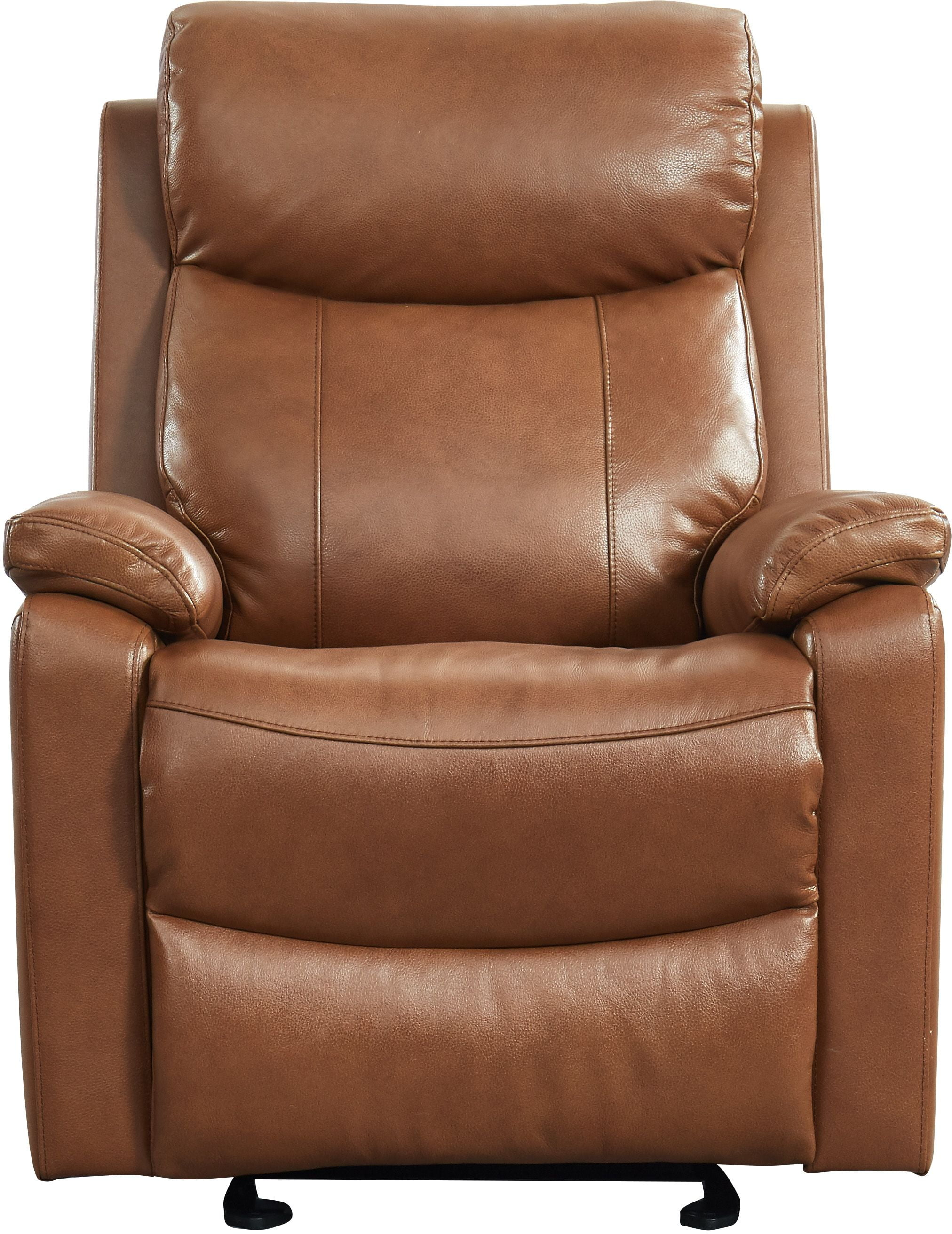 Prime Westport Cole Peanut Brown Leather Glider Recliner Pdpeps Interior Chair Design Pdpepsorg