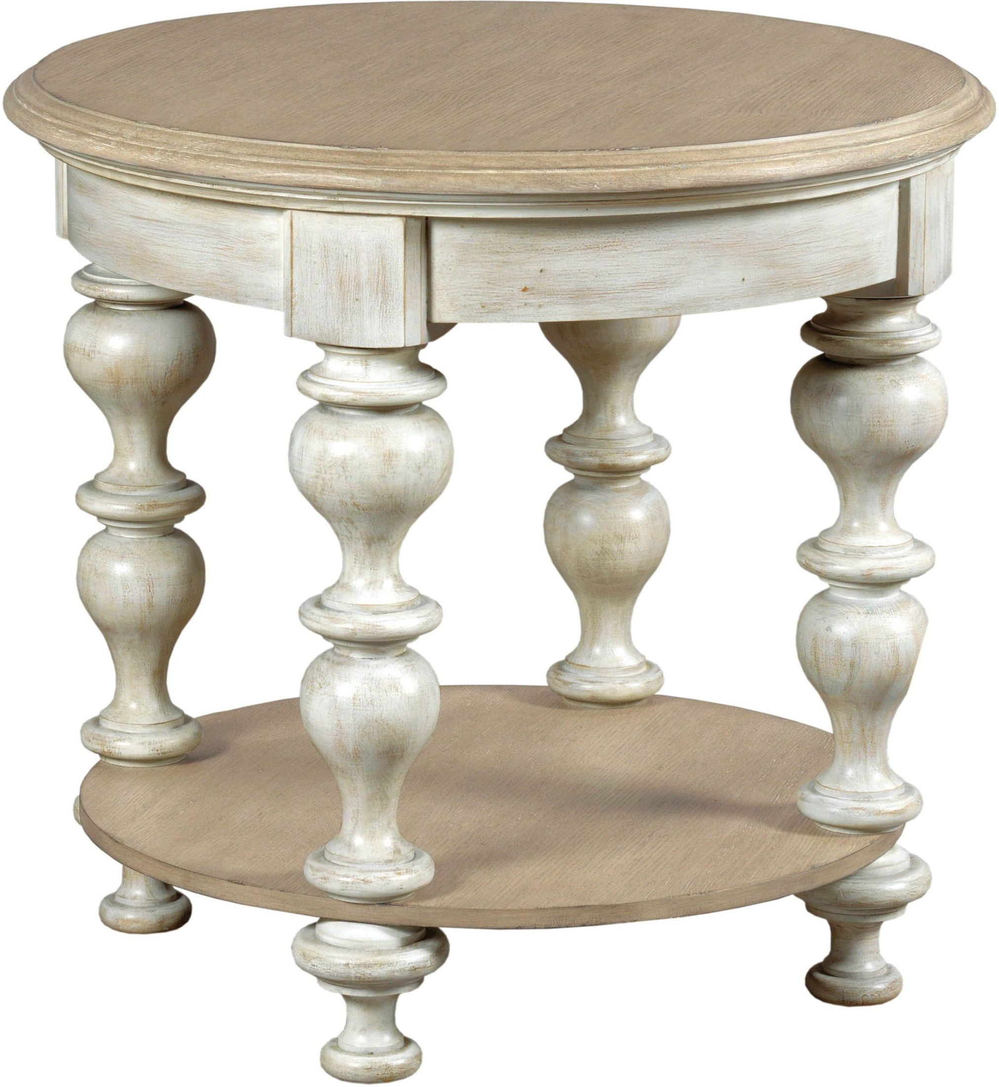 Driftwood End Table: American Drew Litchfield Driftwood Blakeney End Table