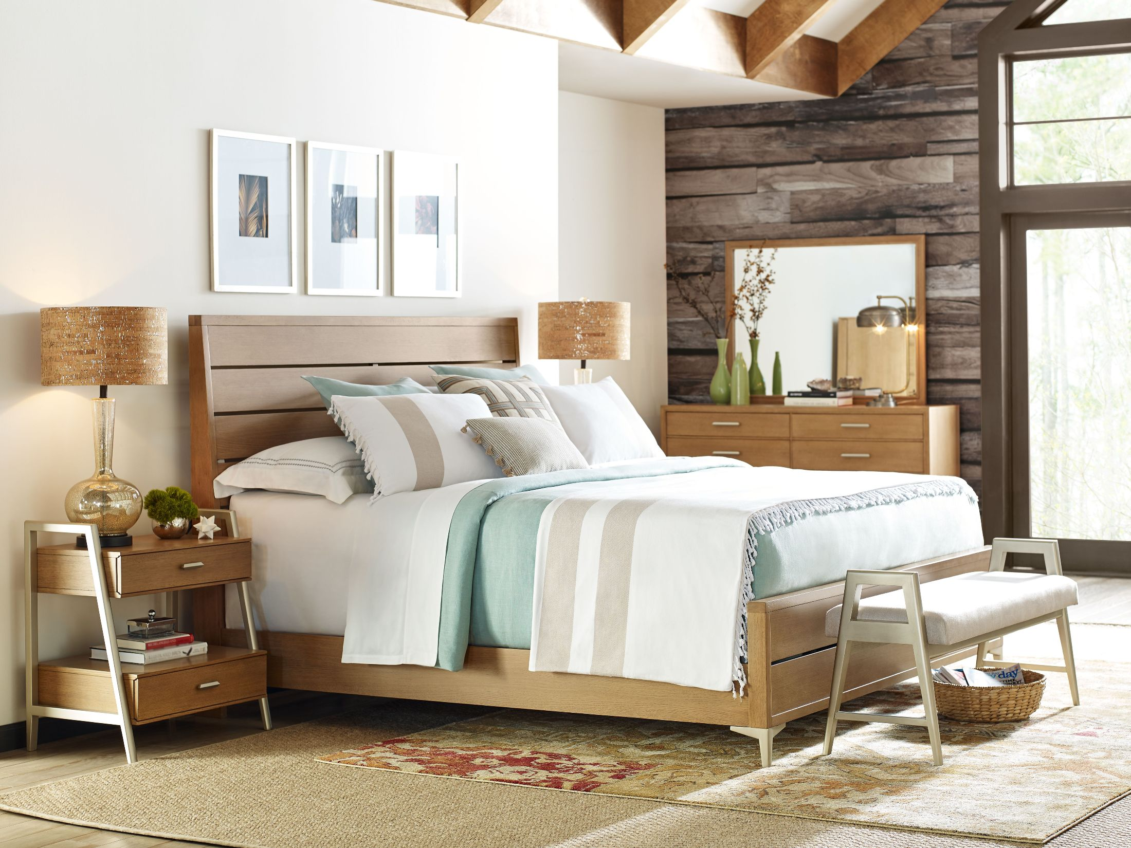 Legacy Classic Hygge Cashmere Ladder Back Panel Bedroom Set By Rachael Ray Hygge Collection 5