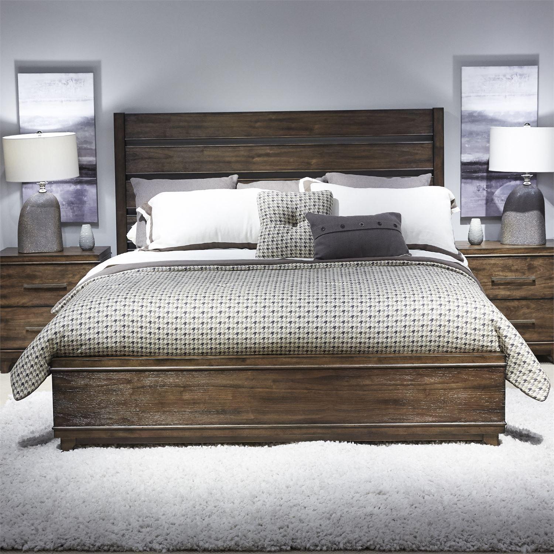Liberty Ventura Blvd Bronze Spice Storage Bedroom Set