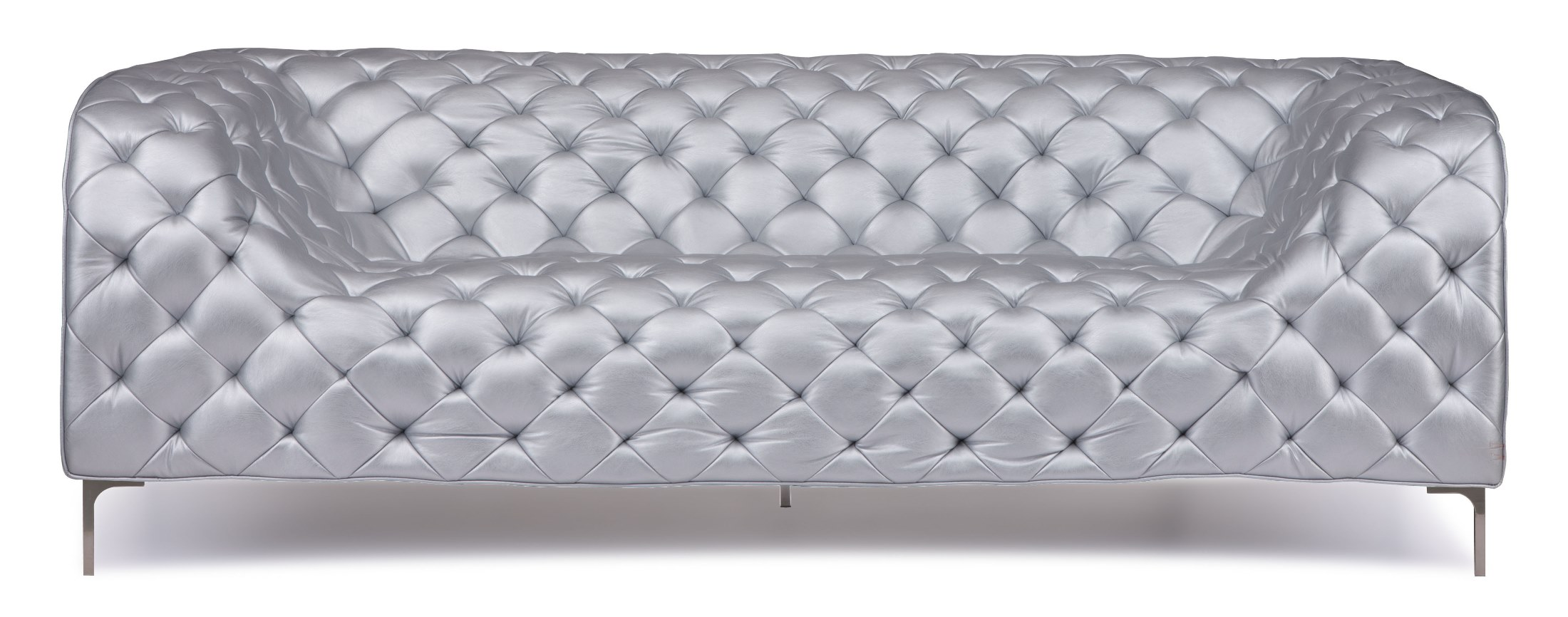 Zuo Modern Providence Silver Sofa Providence Collection