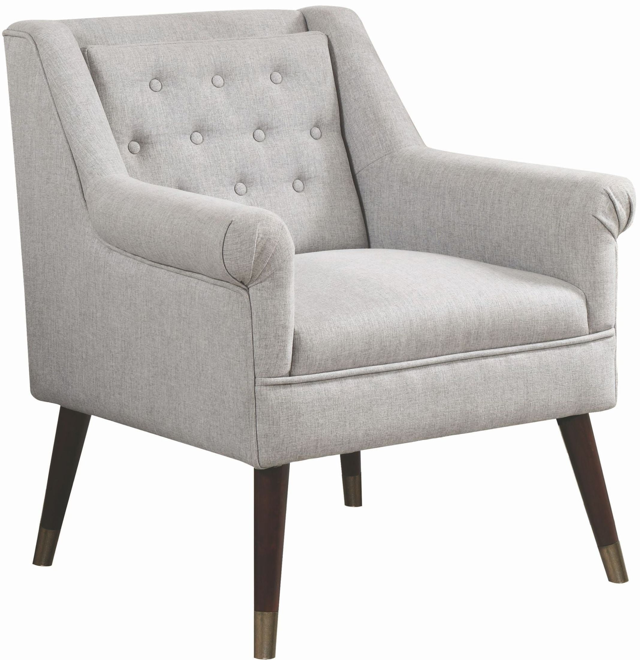 Light Grey Accent Chair: Coaster 903857 Light Gray Accent Chair