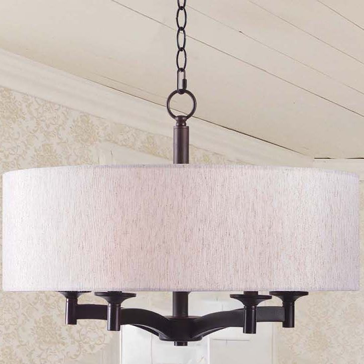 Kenroy Rutherford Oil Rubbed Bronze 5 Light Pendant