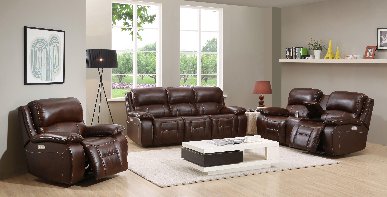 Cool Westminster Ii Rich Brown Leather Power Reclining Living Room Set Inzonedesignstudio Interior Chair Design Inzonedesignstudiocom