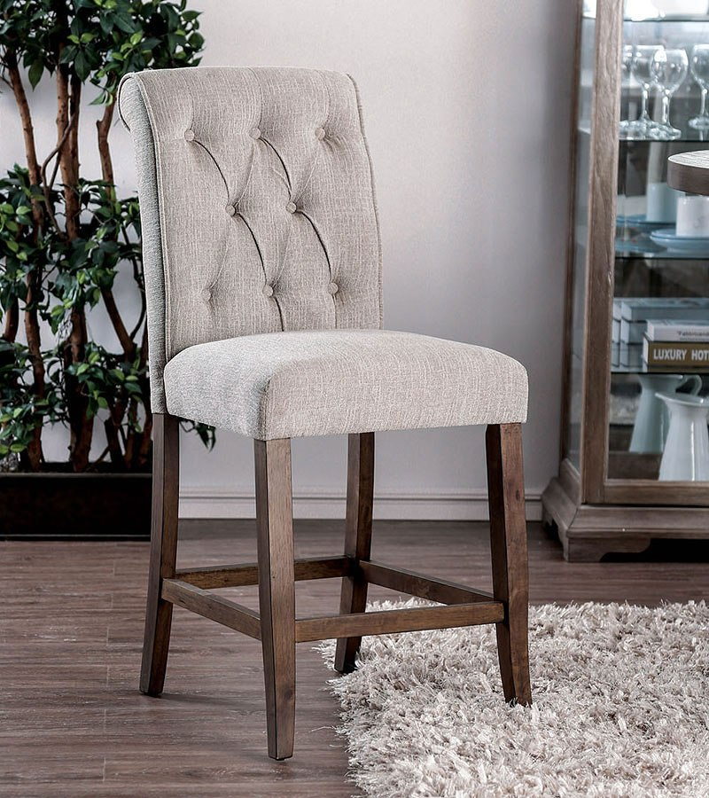 Cheap Laminate Flooring In Hull: Furniture Of America Sania III Counter Height Chair
