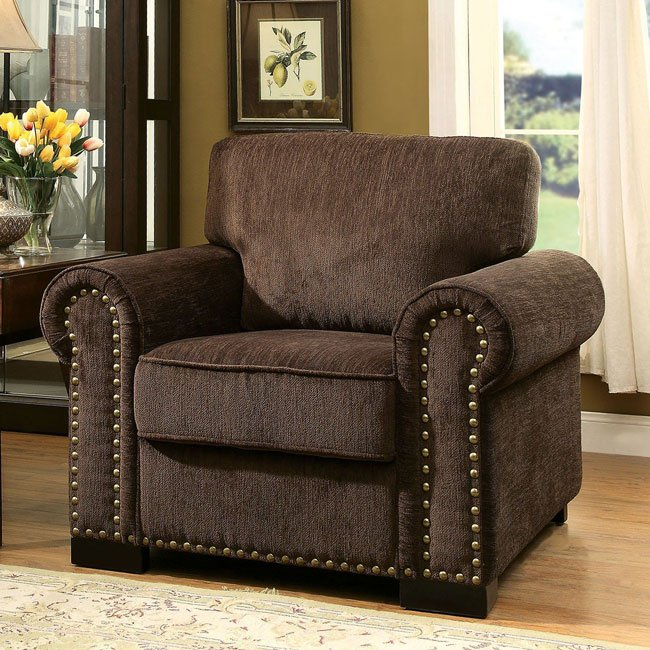Furniture Of America Living Room Collections: Furniture Of America Rydel Chair (Diamond)