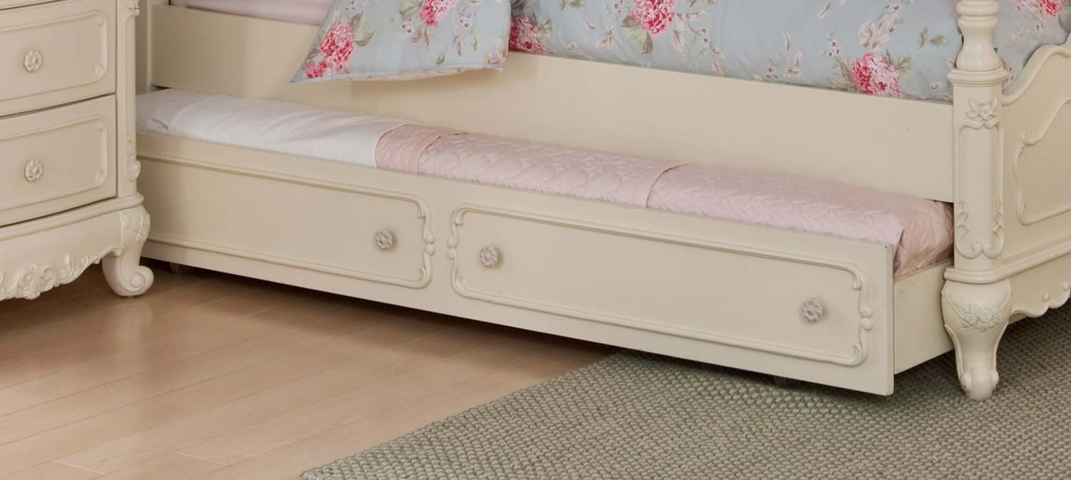 Homelegance Cinderella Twin Trundle For Canopy Bed