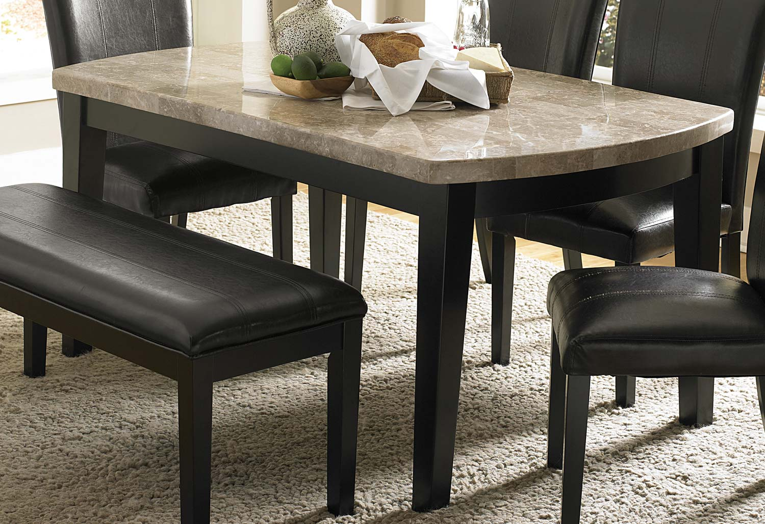 Cristo Marble Top Dining Tablemedia Image