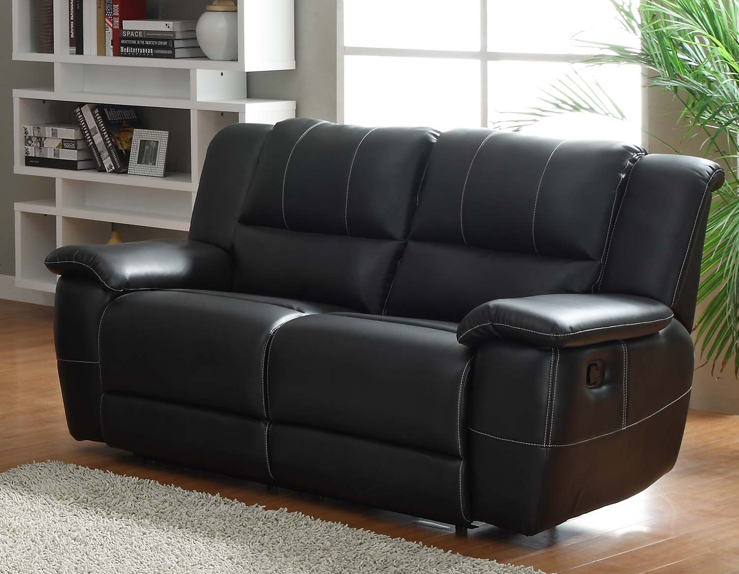 Homelegance Cantrell Double Reclining Loveseat Cantrell Collection