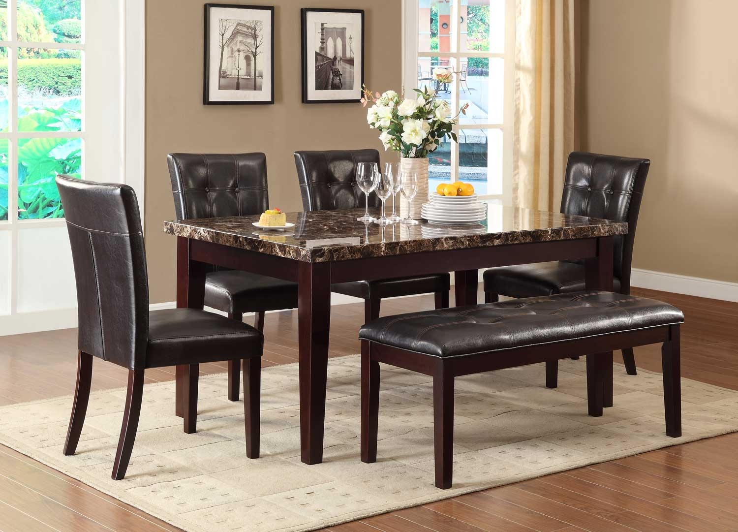 Blue Better Homes And Gardens Cambridge Place Dining Table Furniture Other Antique Furniture