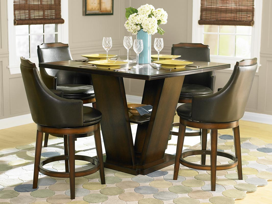 Bayshore counter height dining room set