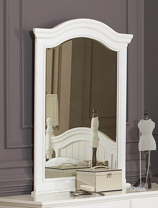 Homelegance Clementine White Postal Bedroom Set: Homelegance Clementine White Youth Mirror