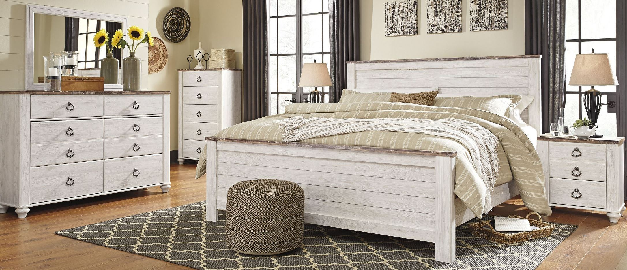 Furniture Bedroom Sets King Panel