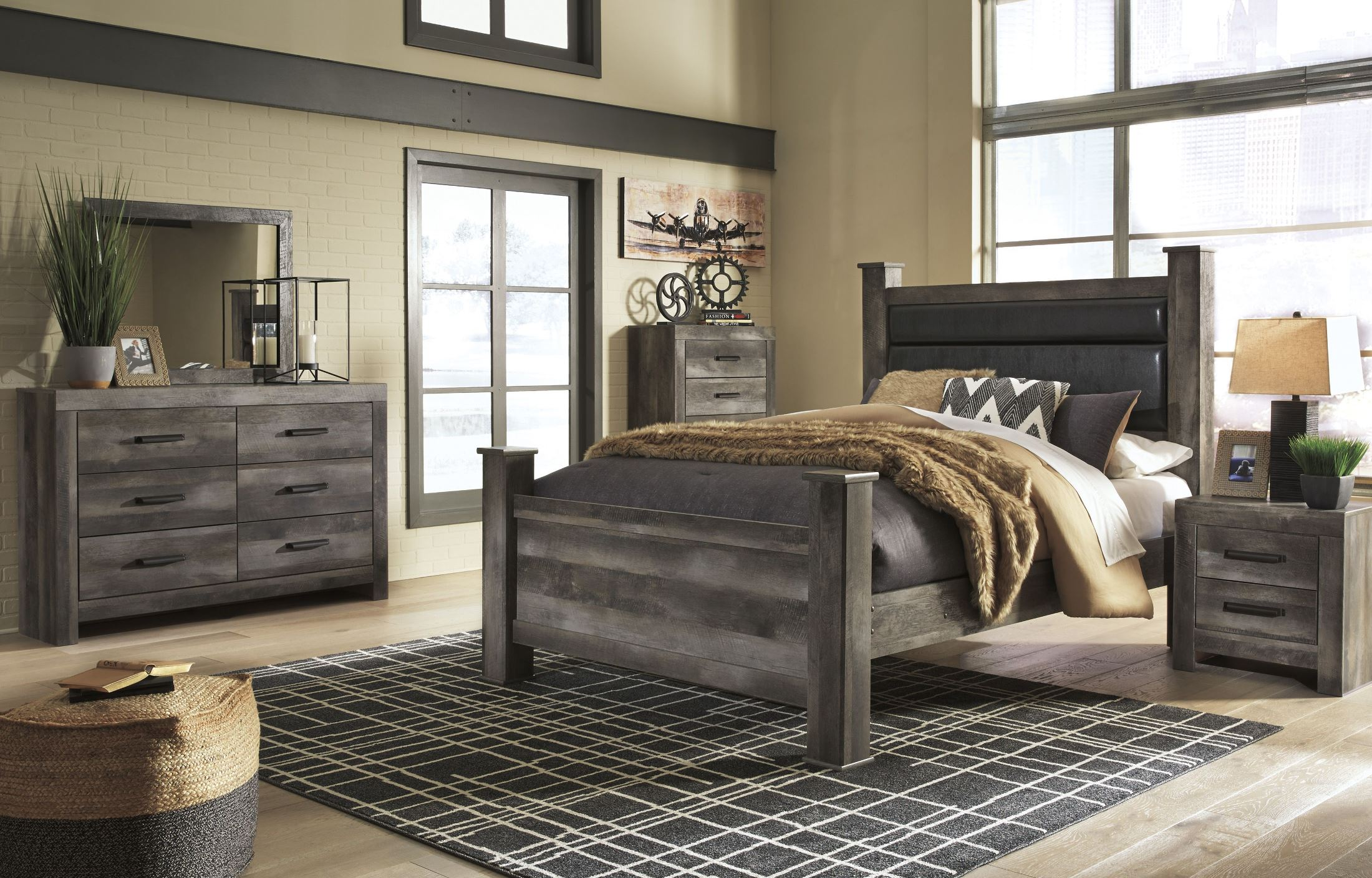 Bellaby White Panel Bedroom Set 1stopbedrooms