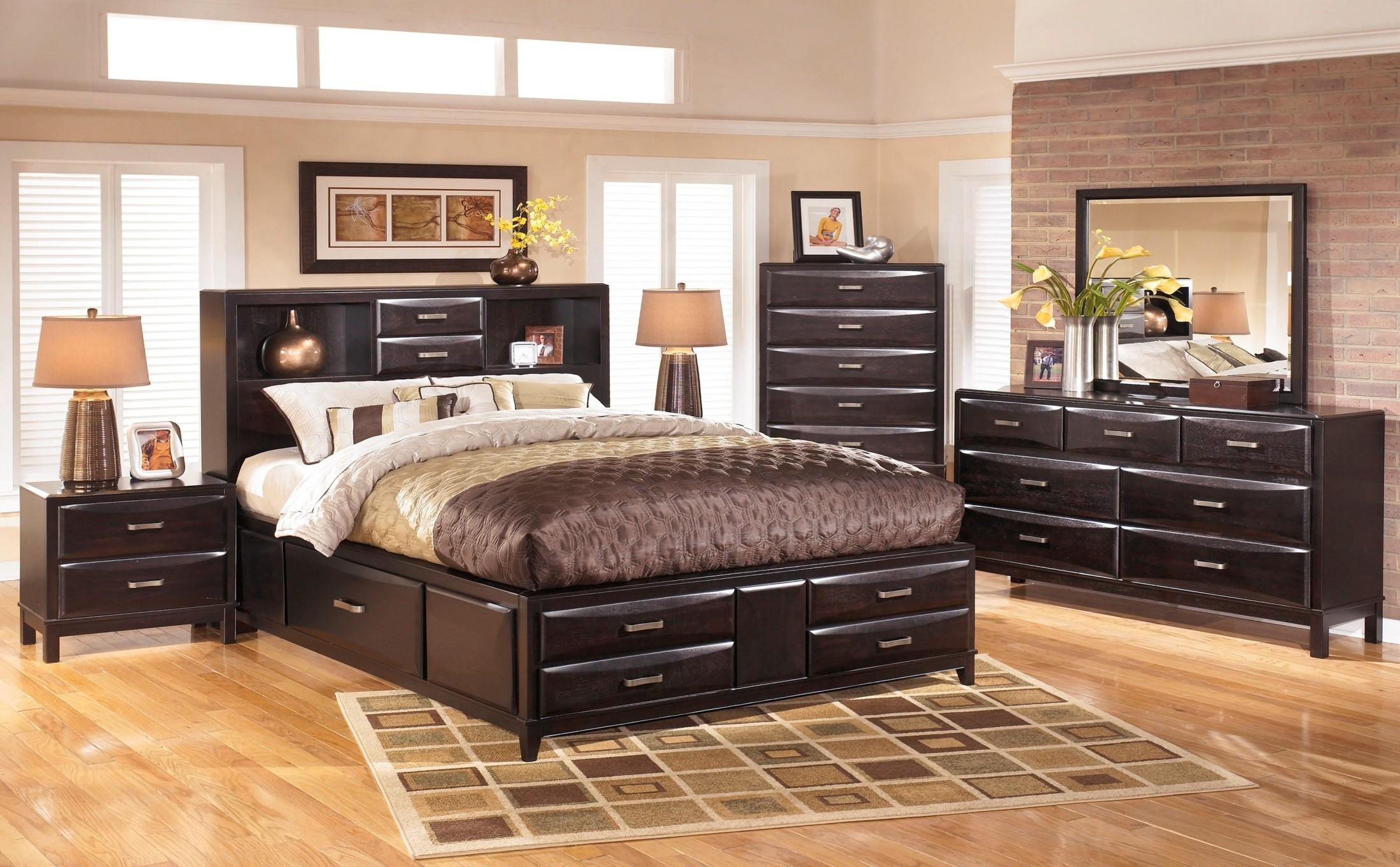 Kira Storage Bedroom Set - 1StopBedrooms.