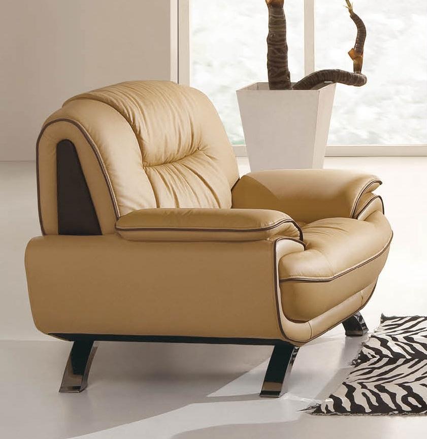 ESF ESF Furniture 405 Living Room Chair In Brown