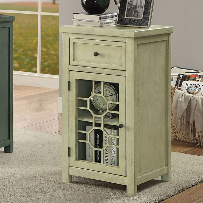 Ashleys Furniture Killeen Tx: Furniture Of America Killeen Antique White Side Table