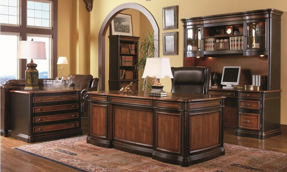 Pergola Grand Style Home Office Set - 80050Media Image