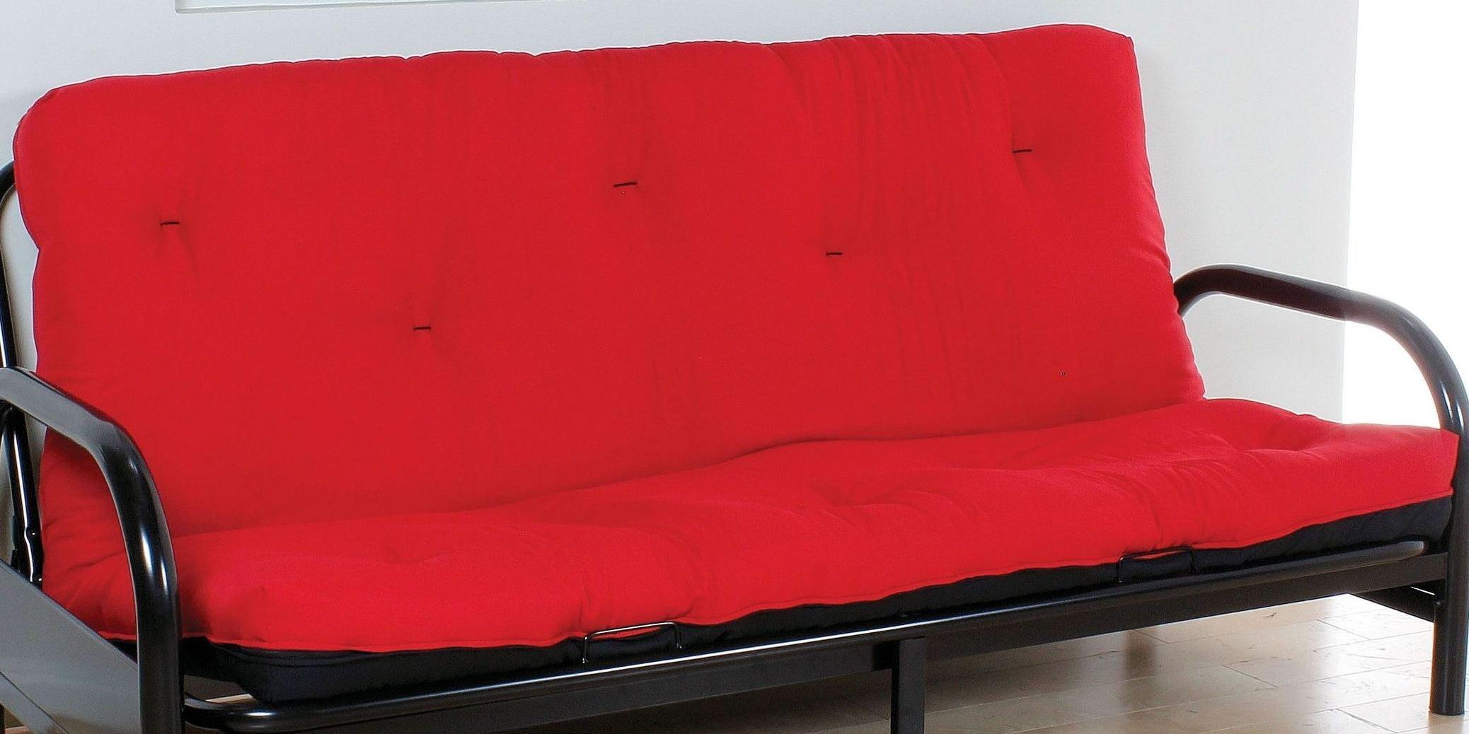 La Red And Black 6 Full Futon