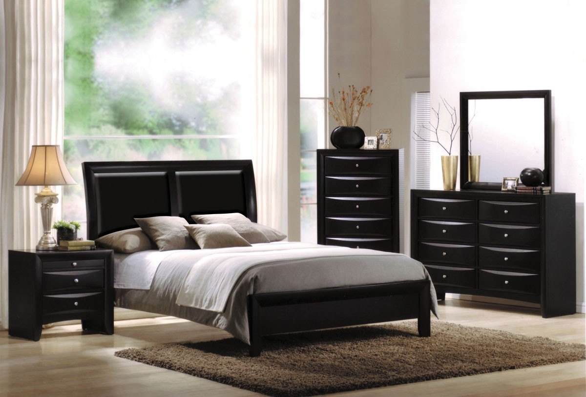 Acme Ireland Bycast California King Platform Bed In Black 04151ck 1stopbedrooms