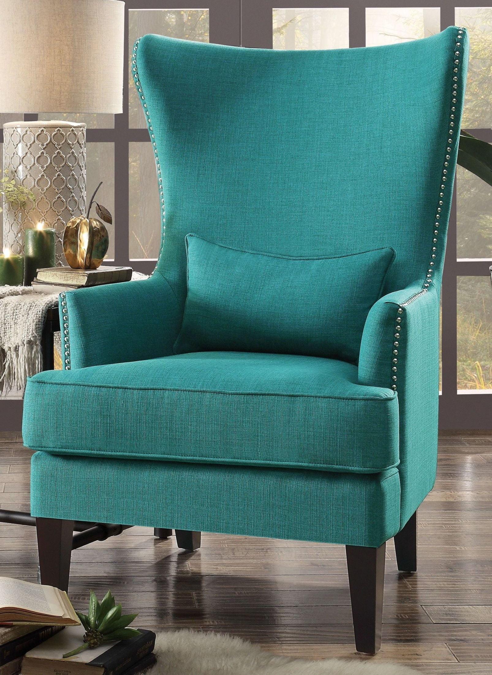 Stupendous Avina Teal Accent Chair Lamtechconsult Wood Chair Design Ideas Lamtechconsultcom
