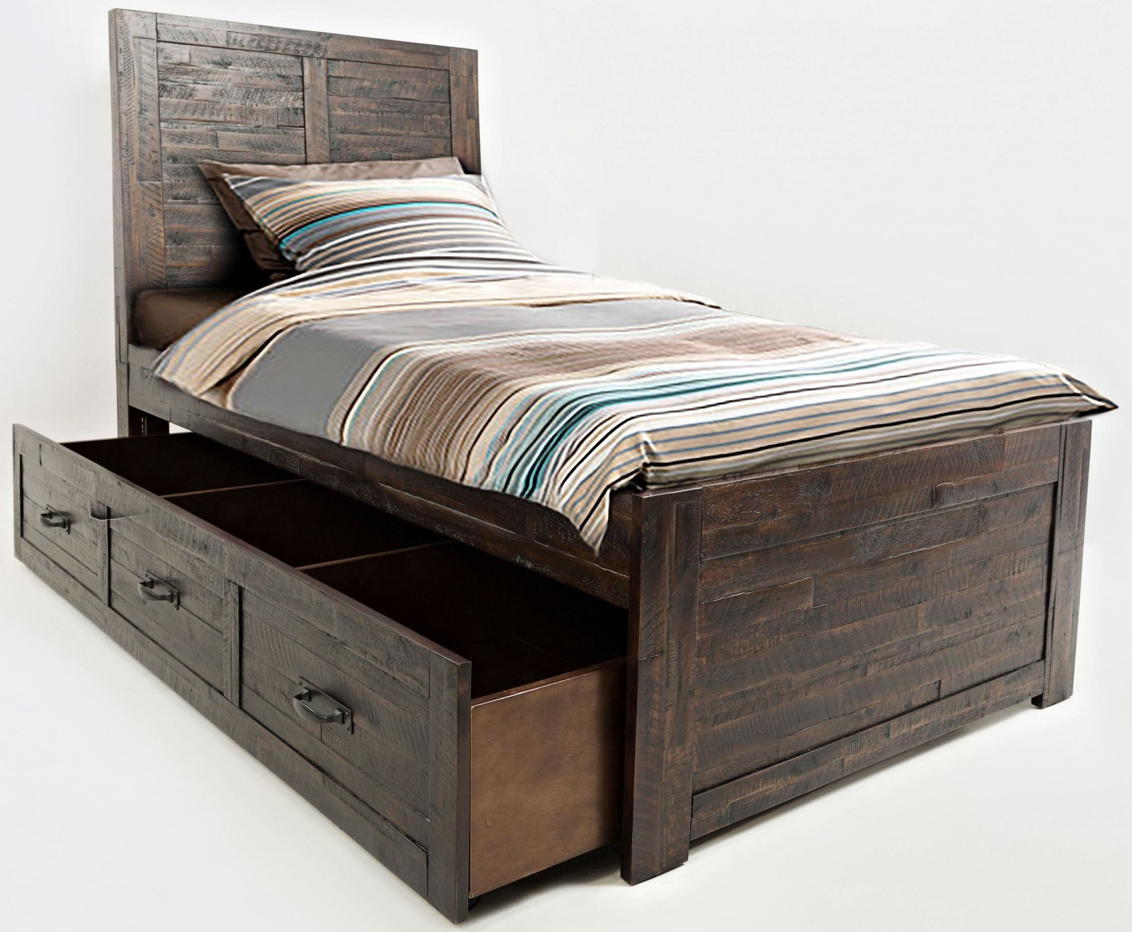 Jackson Lodge Subtle Twin Trundle Bed 1stopbedrooms
