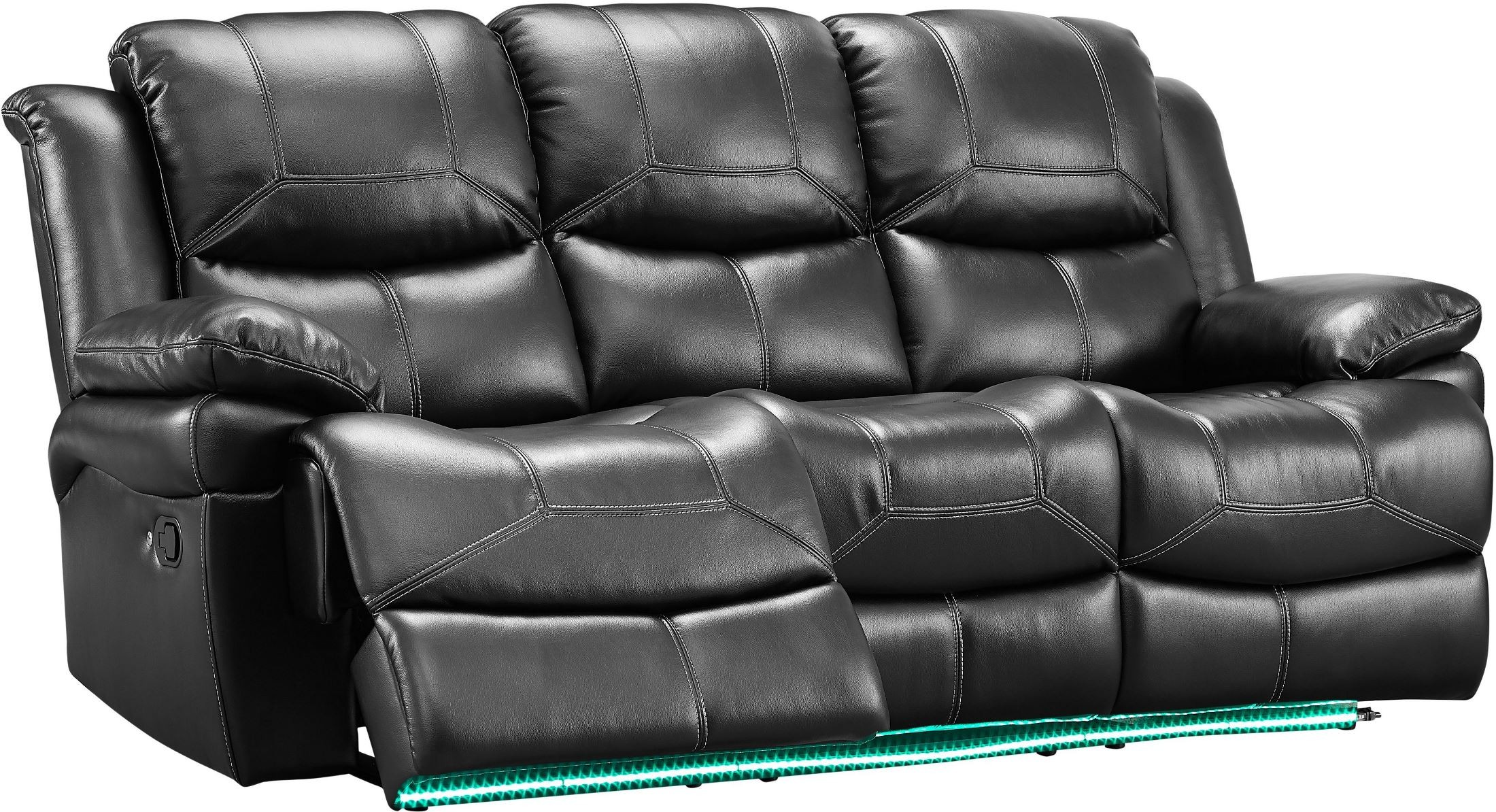 Cool Flynn Premier Black Power Reclining Living Room Set Machost Co Dining Chair Design Ideas Machostcouk