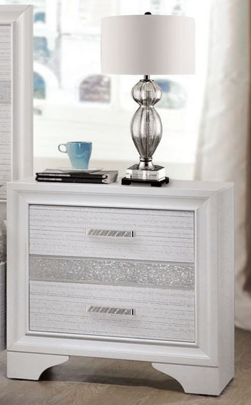Miranda White Storage Platform Bedroom Set Media Gallery 2