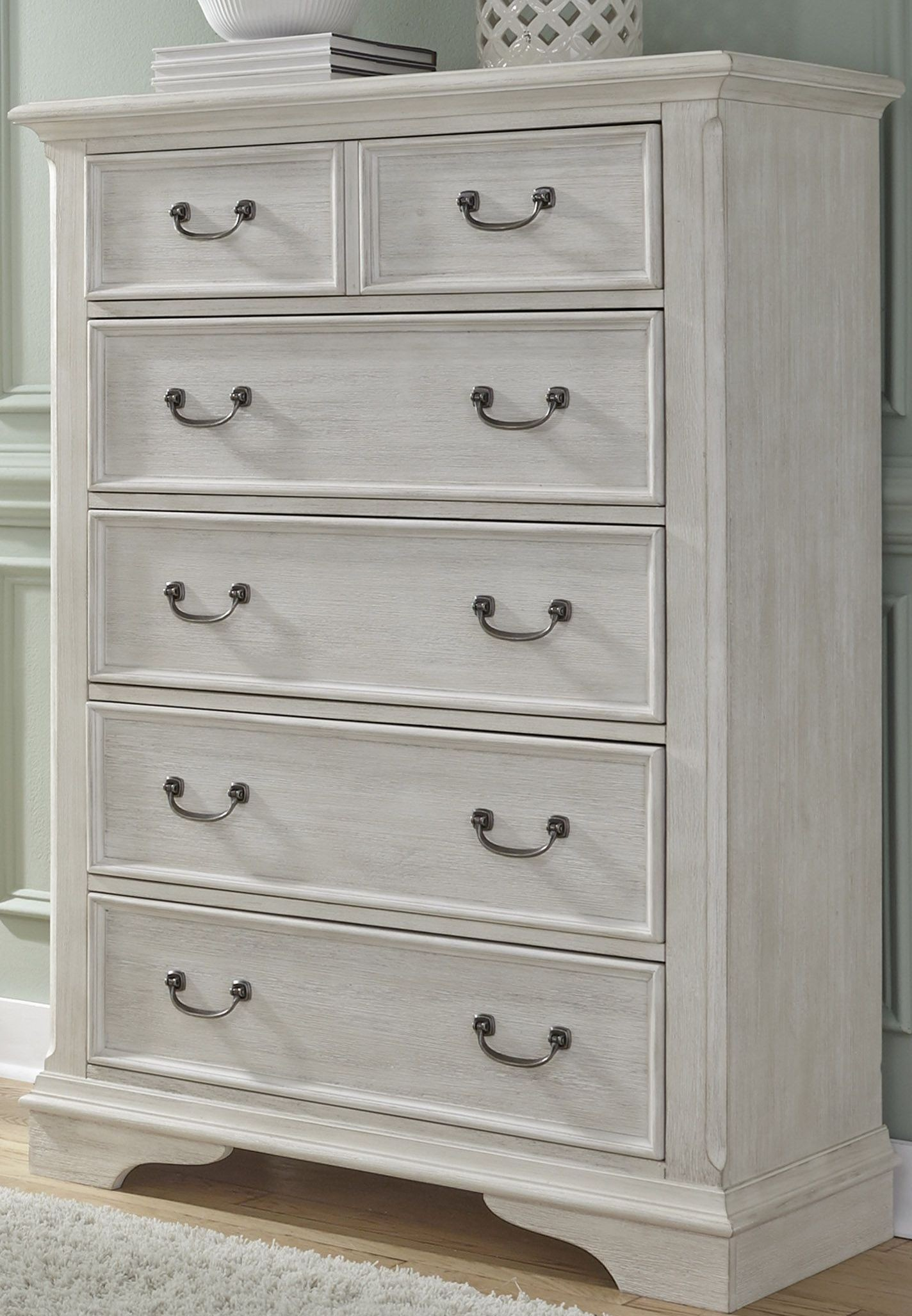 Liberty Bayside Bedroom White Panel Bedroom Set