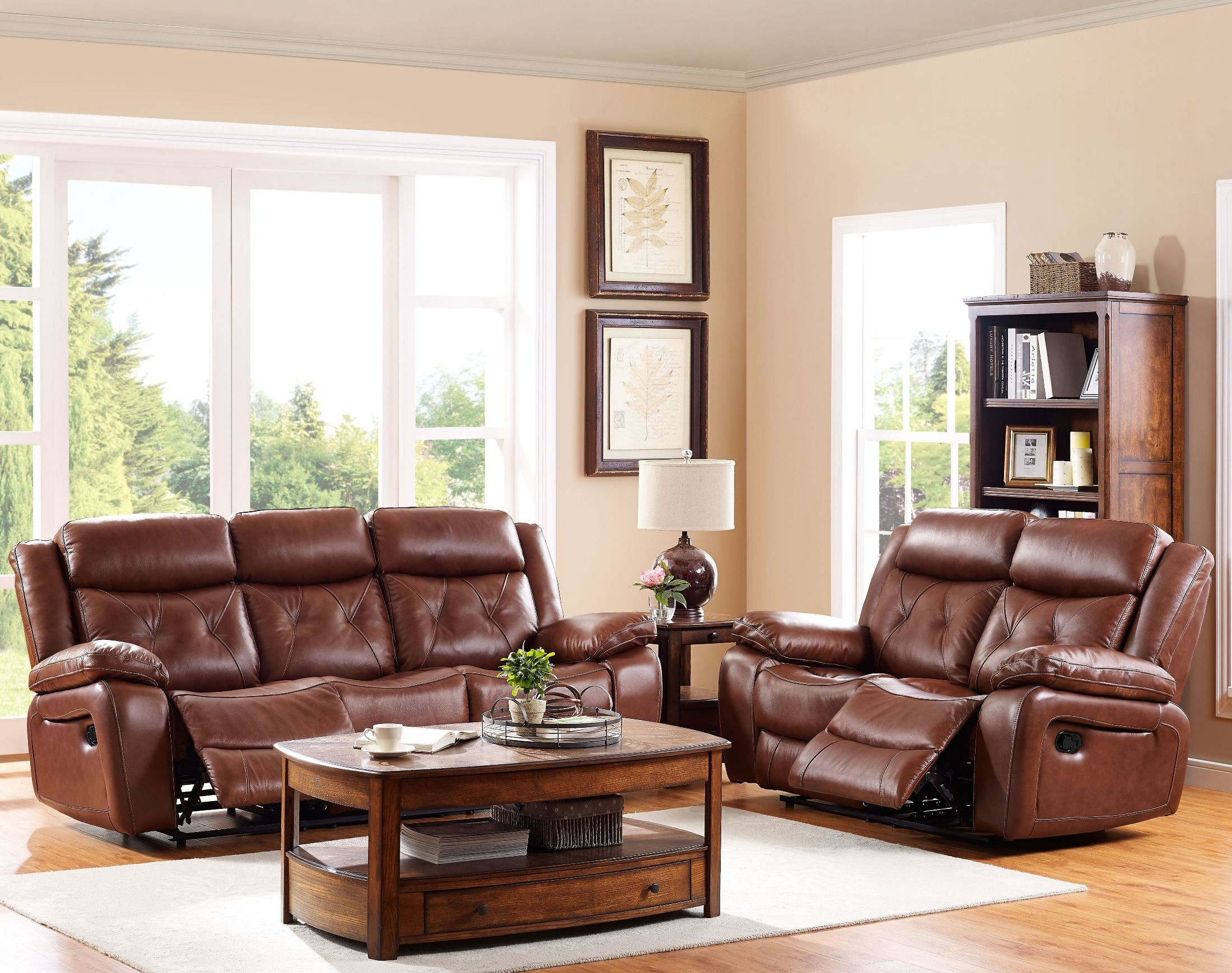 Prime Benedict Light Brown Dual Reclining Living Room Set Andrewgaddart Wooden Chair Designs For Living Room Andrewgaddartcom