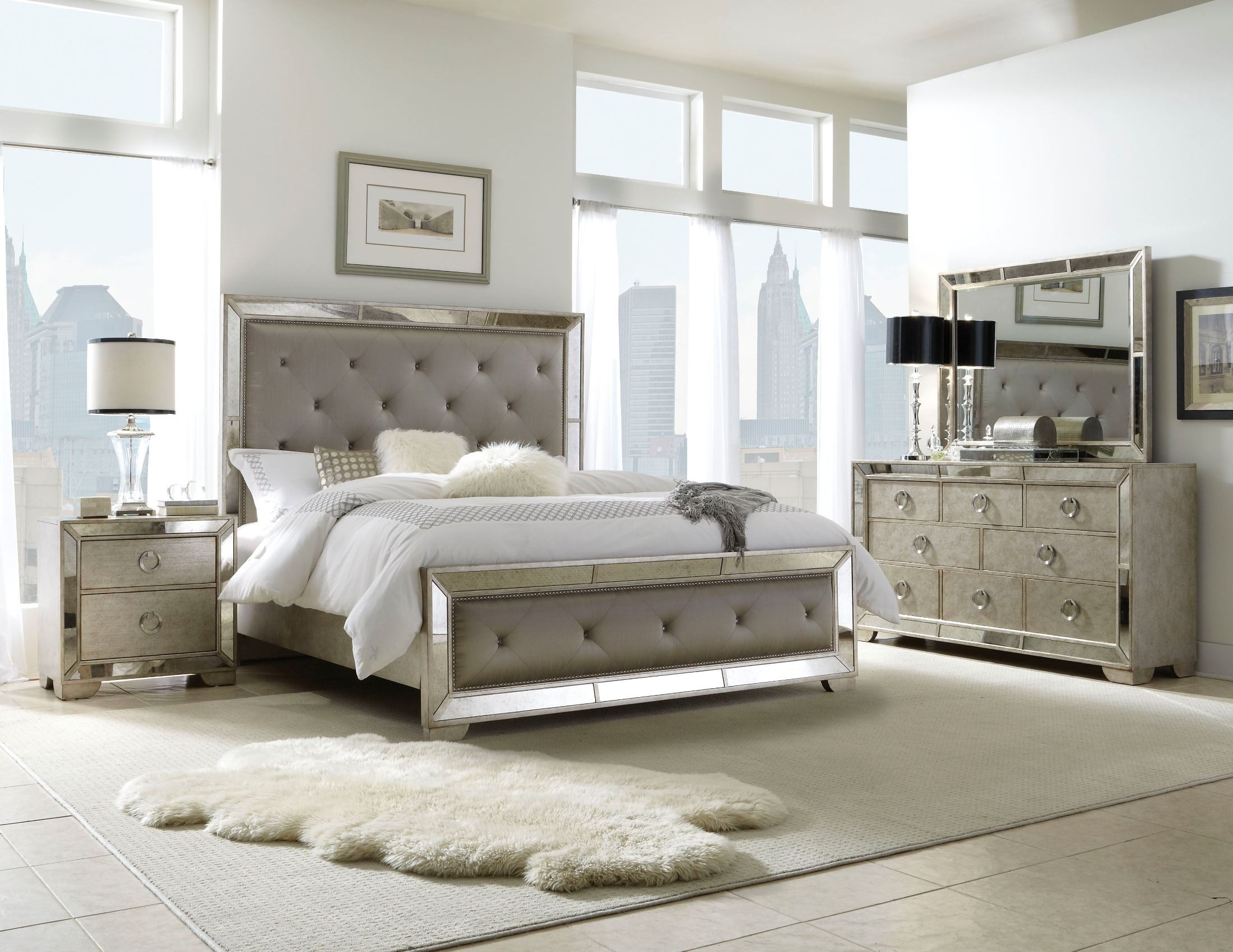 Ava Platform Bedroom Set Media Gallery
