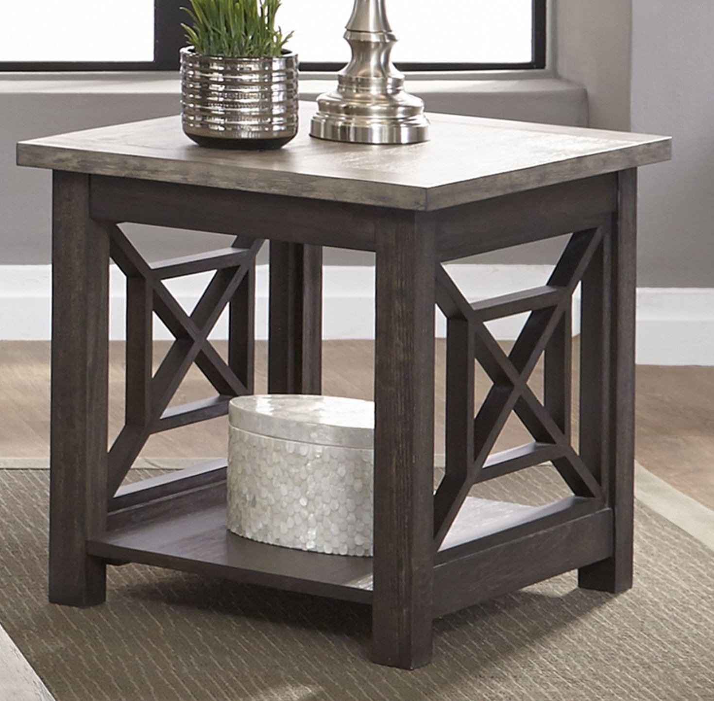 Heatherbrook Charcoal Occasional Table Set 1stopbedrooms