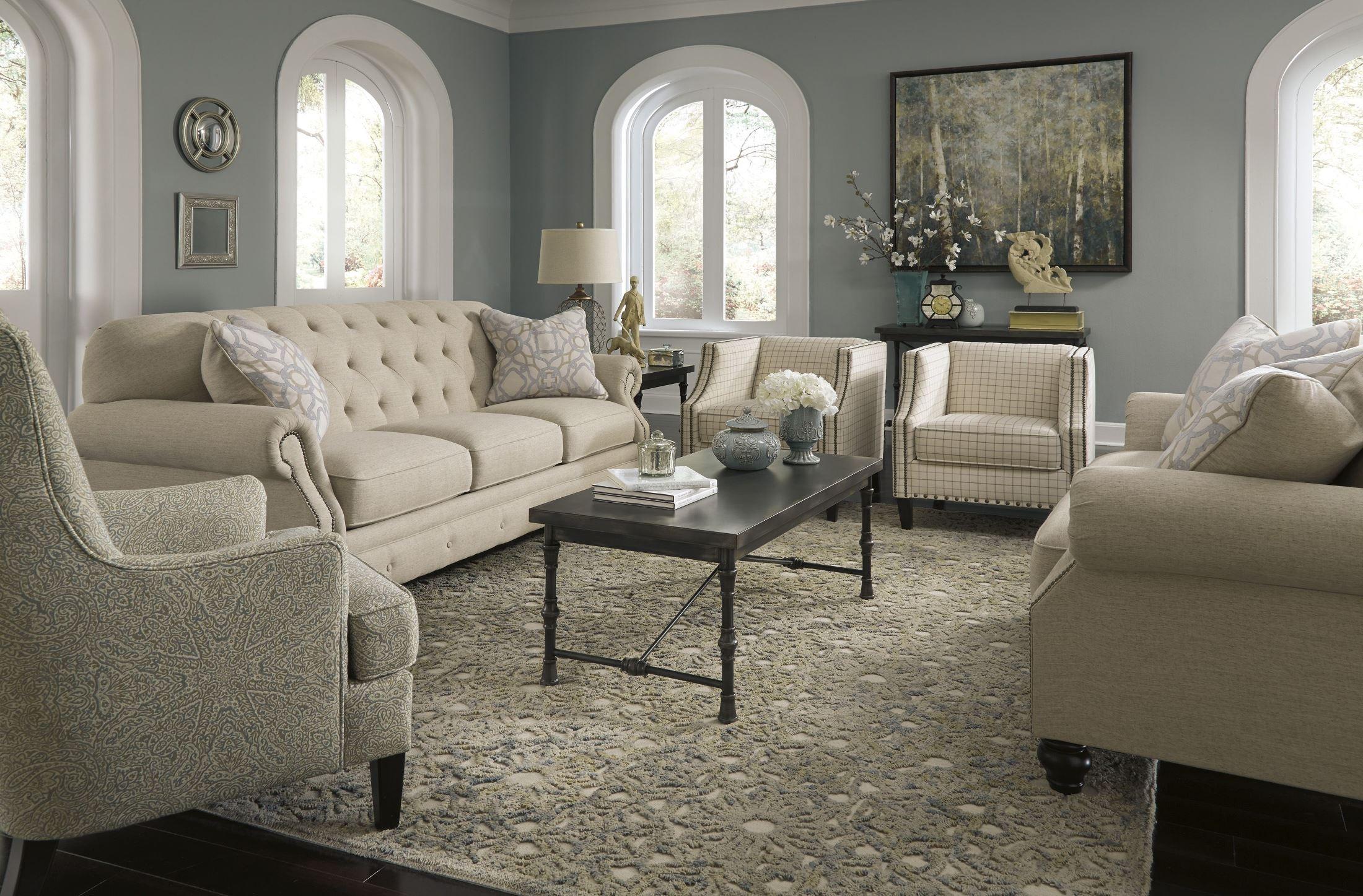 Kieran Natural Living Room Set Media Gallery 1