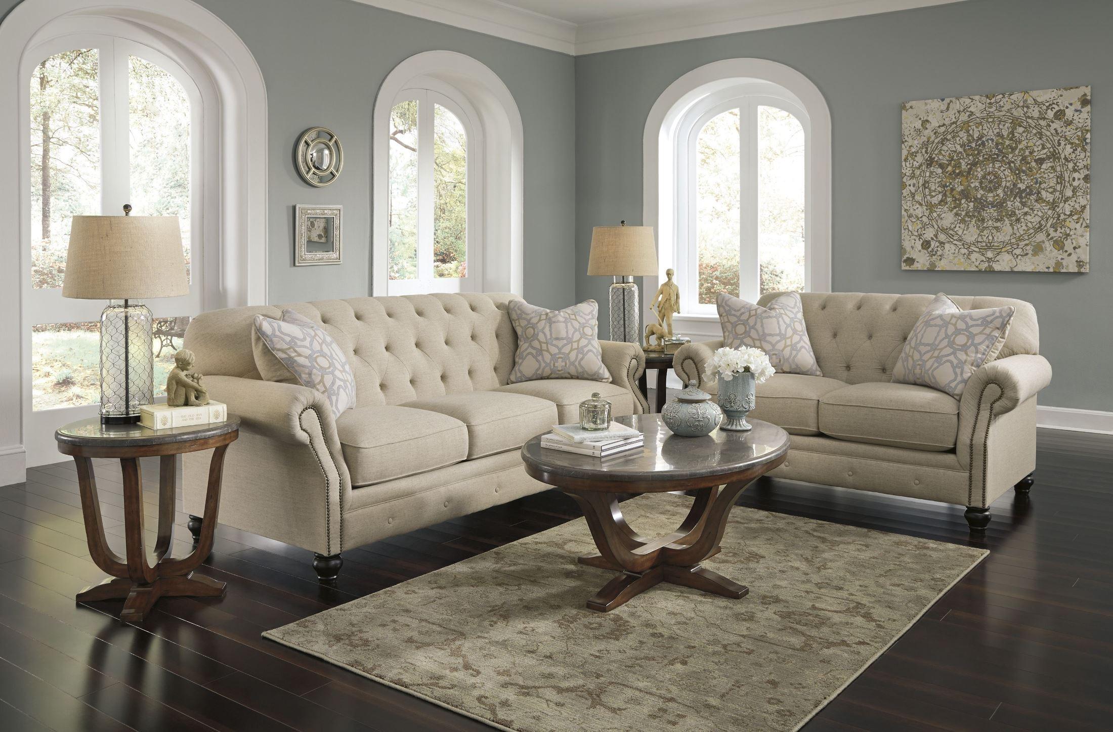 Kieran Natural Living Room Set Media Gallery