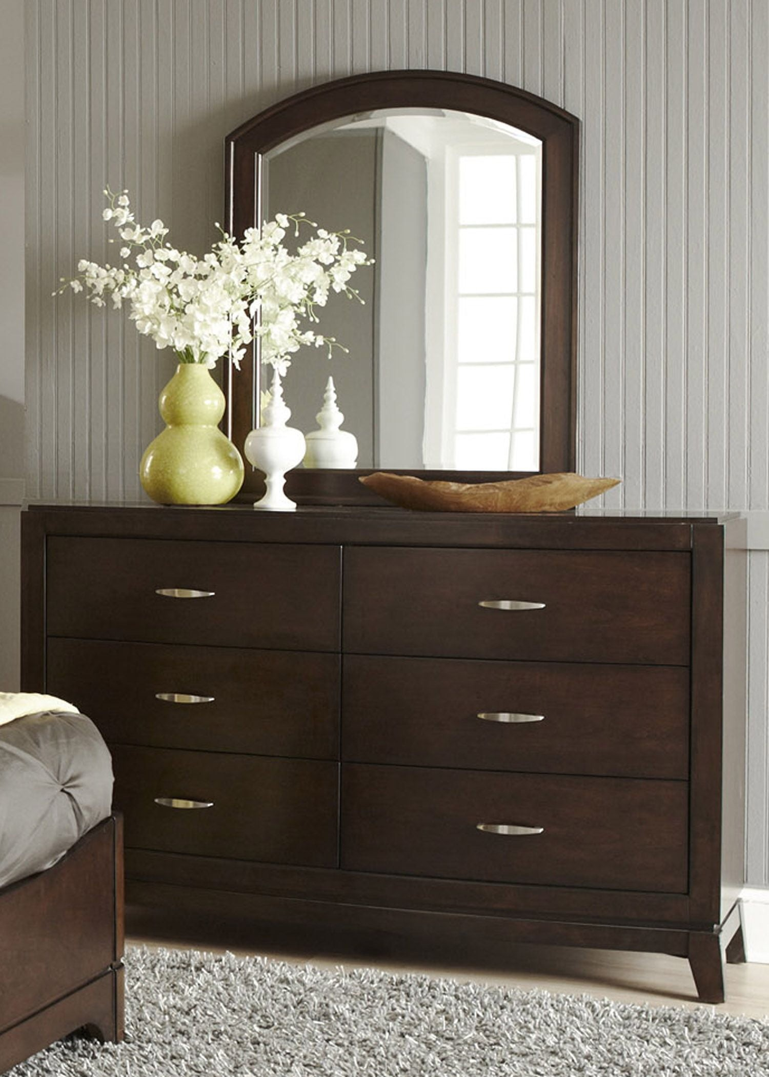 Avalon Truffle Youth Leather Storage Bedroom Set Media Gallery 3