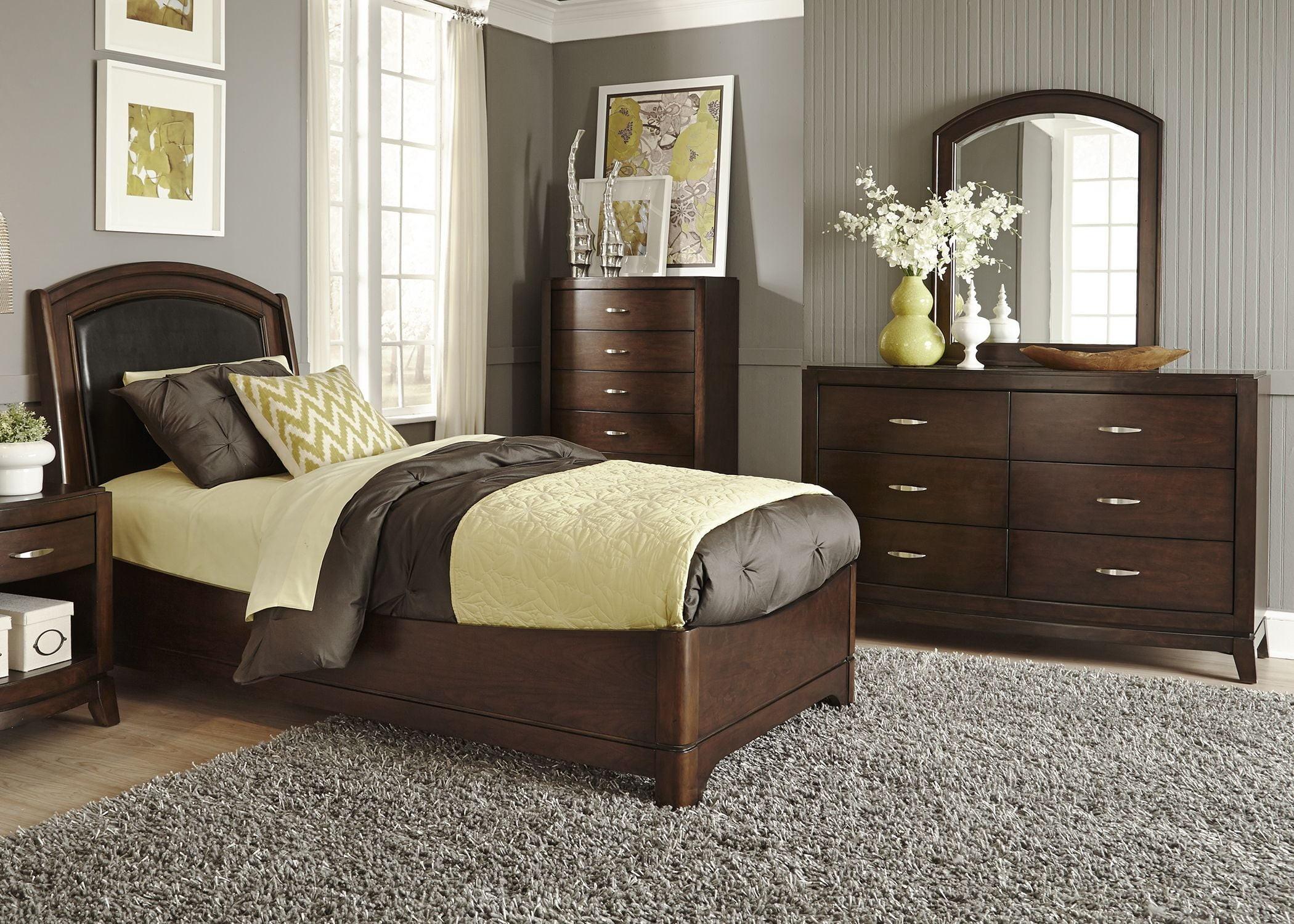 Liberty Avalon Truffle Youth Leather Bedroom Set