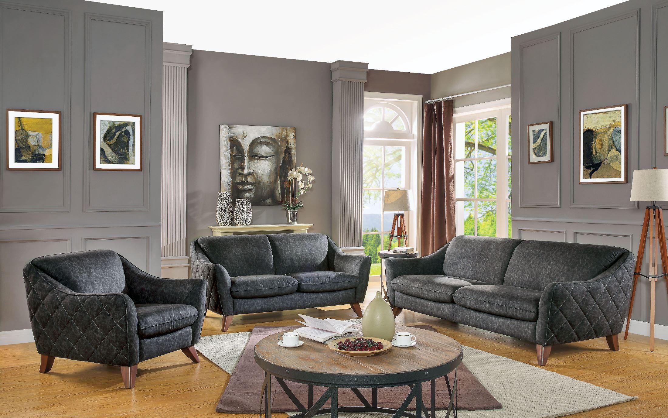 972fe6bcbf13 Acme Daffodil Vintage Living Room Set Daffodil Collection 4