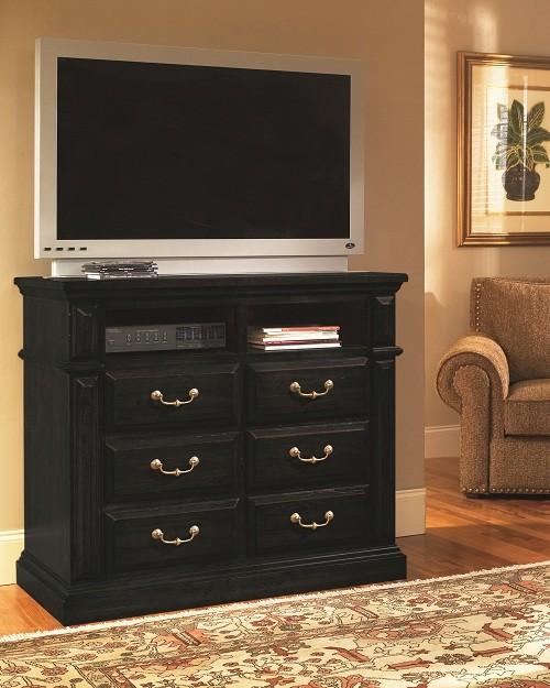 Progressive Furniture Torreon Antique Black Panel Bedroom Set