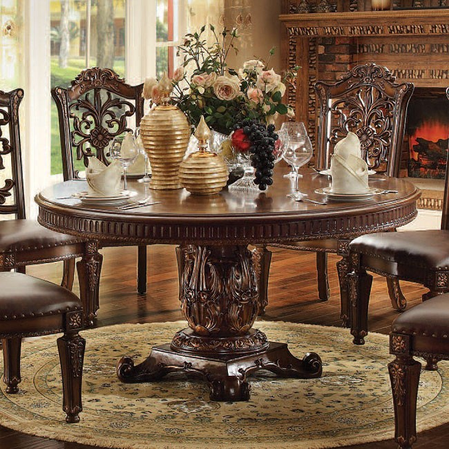 60inch Round Table.Vendome 60 Inch Round Dining Table Cherry
