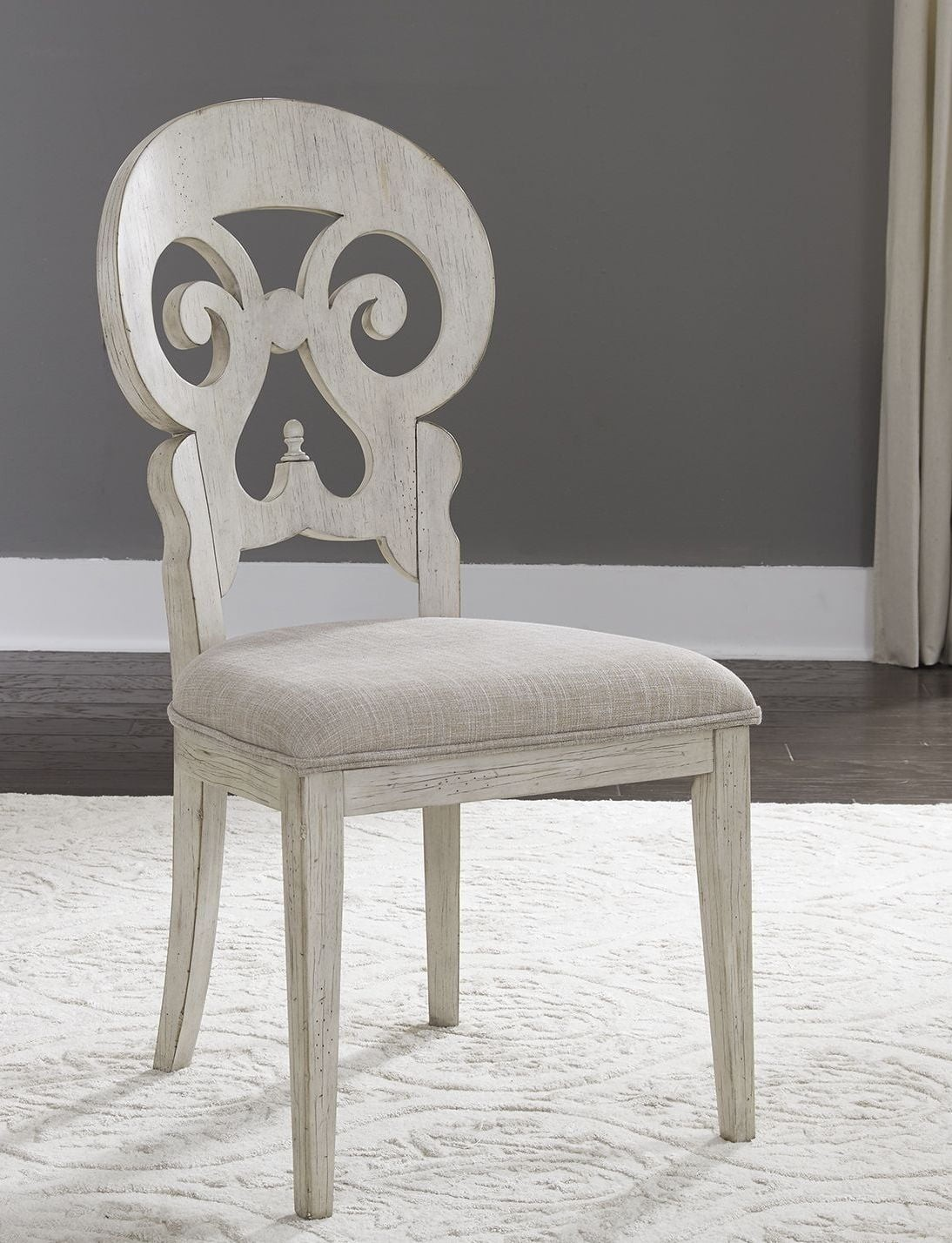 Antique White Dining Room Furniture: Liberty Farmhouse Reimagined Antique White Extendable